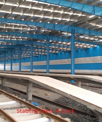Stabling Shed 6 Track