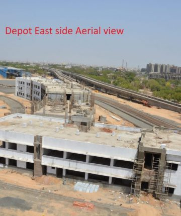 Depot East Site Aerial View